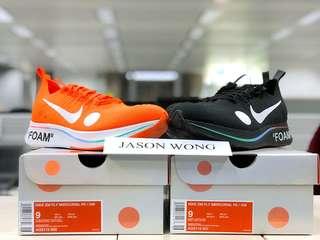 Nike Zoom Fly Mercurial Off-White Black Orange US9