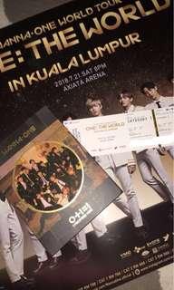 CAT 1 Wanna One World Tour in Kuala Lumpur KL