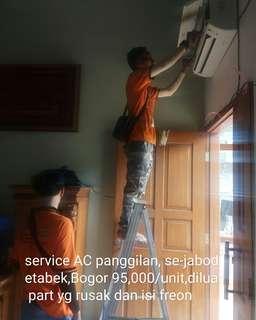 Service ac panggilan