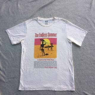 UNIQLO UT THE ENDLESS SUMMER CREAM TEE
