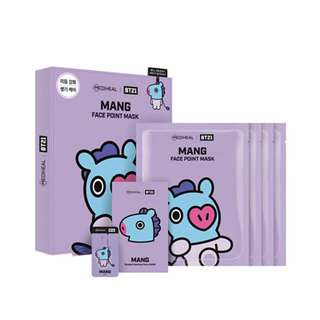 MANG BT21 MEDIHEAL FACE POINT MASK