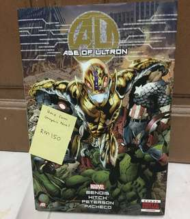 Original Marvel Comic Hard Cover- Age Of Ultron