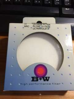 B+W 鏡頭保護鏡  77mm