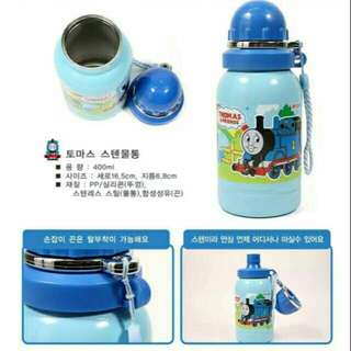 *FREE DELIVERY to WM only / Ready stock* Kids Thomas & Friends thumbler flusk 400ml each as shown in design/color. Free delivery is applied for this item.