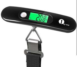 (546) 1byone Digital Portable Hanging Scale Luggage Scale