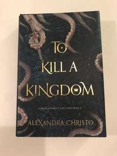 🚚 To Kill a Kingdom hardcover