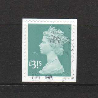 GREAT BRITAIN 2015 TARIFF CHANGE NEW MACHINS  £3.15 CODE M15L 1 STAMP IN FINE USED CONDITION