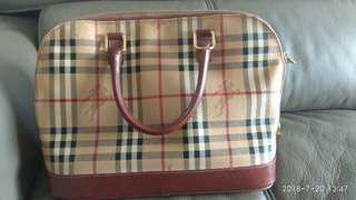 Burberry Domed Satchel Bag