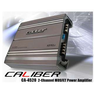 CALIBER CA-4520 2CH MOSFET POWER AMPLIFIER