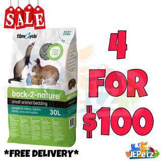 *SALE* Back-2-Nature Small Animal Bedding 30L