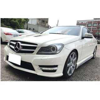0元交車、全額貸款、超低利率、2012年 Benz C250 AMG Couep