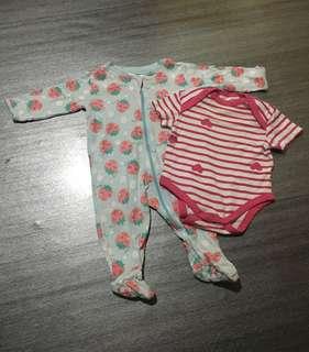 Combo baby girl 0-3m