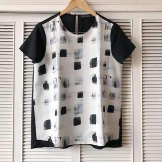 Zara Graphic Top
