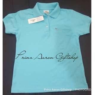 100% Original Brand New Lacoste Polo shirt 3 buttons size 37 FIXED PRICE napo