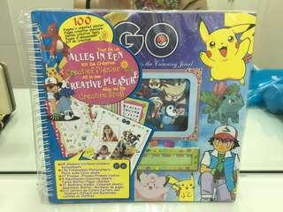 Pokemon Go Scrapbook Set