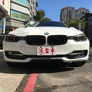 桃園長榮當舖【汽車 流當精品】BMW-316I 1.6 2013 流當汽車(權)