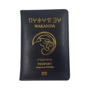 [FREE DELIVERY] Marvel Black Panther Wakanda Passport Holder Cover