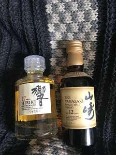 山崎12 響17 酒版 set