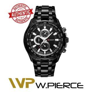 CURREN 8023 W.Pierce Watches Men quartz TopBrand Analog Military male Watches Men Sports army Watch Waterproof Relogio Masculino8023 Casio,Zoo York,Timex,Time Depot,Mossimo,G-Shock,Gshock