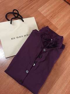 Repriced! Authentic burberry brit polo shirt