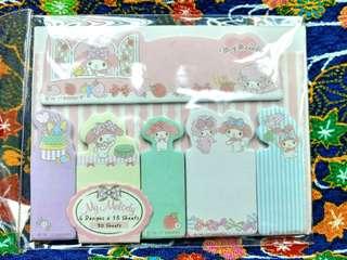 Sanrio Melody Memo 便條紙