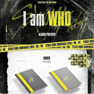 [GROUP BATCH] STRAY KIDS: I AM WHO