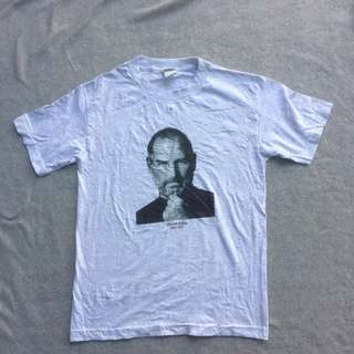 TRIPLE A TEE GREY STEVE JOBS FACES