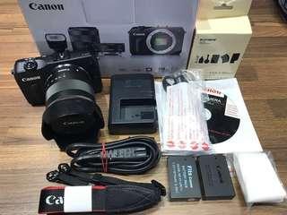 🚚 曙光數位 Canon EOS M 18-55mmm 黑色