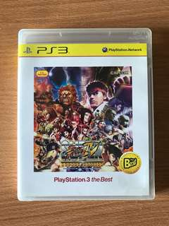 Ps3 Super Street Fighter IV Arcade Edition