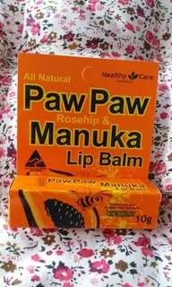 $20澳洲木瓜味潤唇膏