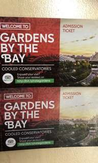Gardens by the Bay entrance ticket