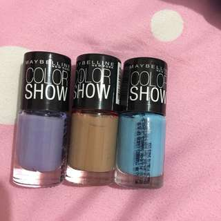 Take all 80rb Maybelline Color Show ORIGINAL