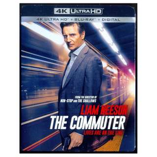 The Commuter - New Blu-Ray 4K