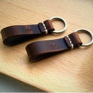 B|02 Handstitched Key Holder