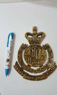 皇家香港警察大章銅製