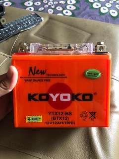 Koyoko Battery YTX12-BS