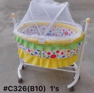 Baby Crib with Mosquito Net