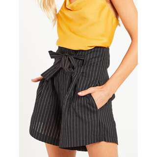 Blossom Boutique Hellen Short - Black Stripe