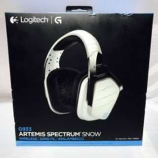 Logitech G933 Artemis Spectrum (Snow White Edition)