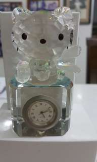 Hello Kitty Crystal Clock
