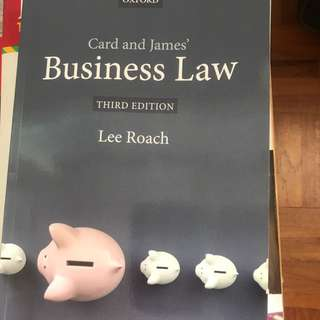Business Law (third Addition)