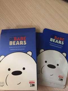We bare bears eye mask