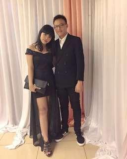Dress hitam untuk kondangan dan party
