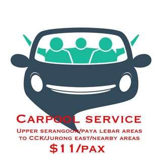 Carpool Evening Service
