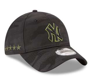 Cap NY 迷彩黑