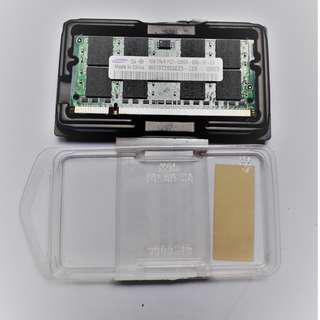 Samsung 1GB Labtop Memory 667MHZ PC2-5300S DUAL RANK DDR2 SDRAM SODIMM