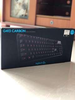 Logitech Mechanical Keyboard G413 Carbon