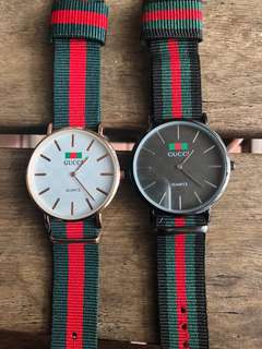 Gucci Unisex Watches (x2)
