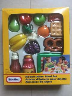 Little Tikes 18-piece Modern Menu Food Set