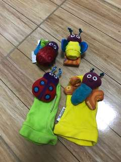 Lamaze Wrist and Foot Finder
